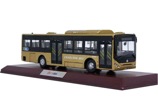 1:42 Scale Diecast DongFeng CHAOLONG BEV City Bus Model