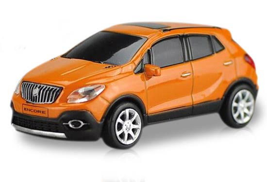 Red / White / Orange 1:87 Scale Diecast Buick Encore Model
