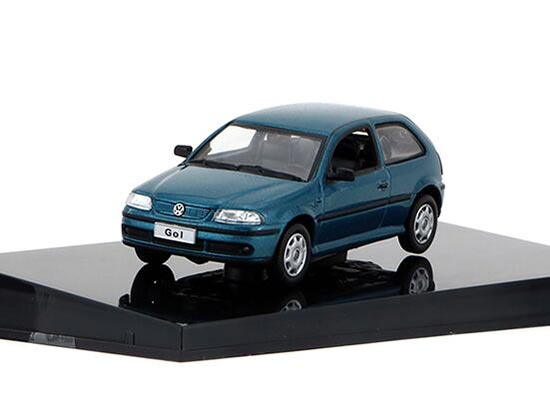 Red / Golden / Blue 1:43 Scale Diecast VW GOL Model