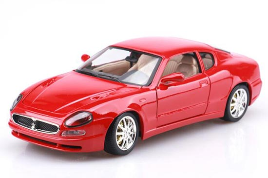 Bburago Red / Black 1:18 Scale Diecast Maserati 3200GT Model