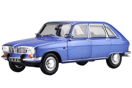 1:18 Scale Blue NOREV 1967 Diecast Renault 16 Model