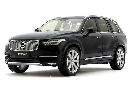 1:18 Scale Black / Golden 2015 Diecast Volvo XC90 Model