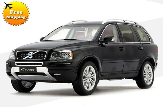 Black / Bronze 1:18 Scale Diecast Volvo XC90 Classic Model