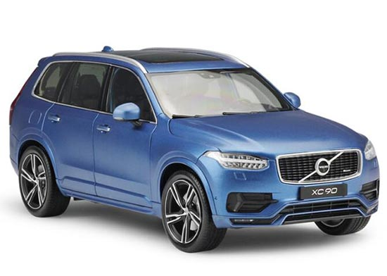 White / Blue 1:18 Scale GTA Diecast Volvo XC90 Model