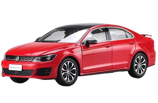 Red 1:18 Scale Diecast VW Lamando GTS Model
