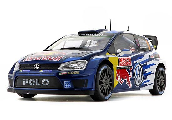 NO.9 Blue 1:18 Scale NOREV Diecast VW Polo R WRC Model