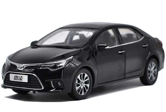 Black / Silver / Red/ Blue Diecast Toyota Corolla Levin Model