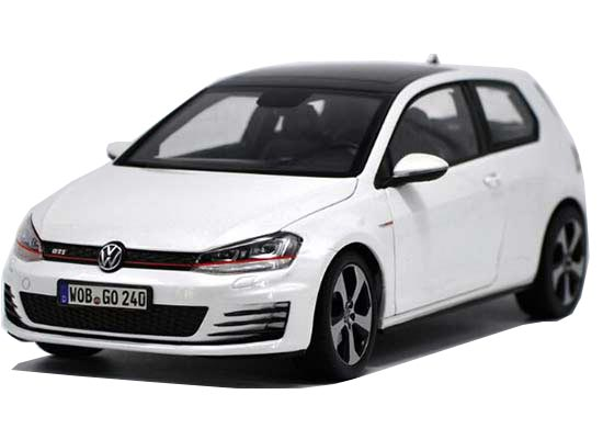 1:18 Scale White Norev Diecast VW Golf GTI Model