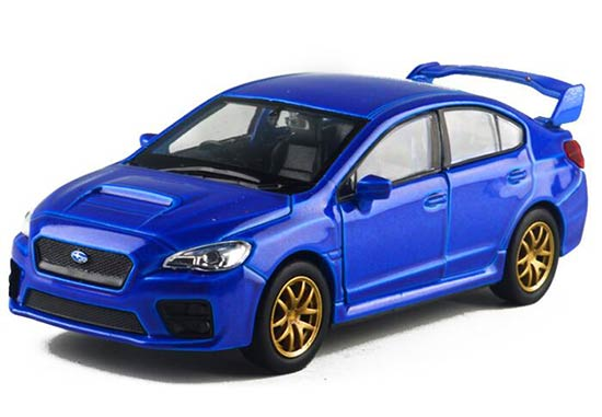 Kids 1:36 Scale Welly Diecast Subaru Impreza WRX STI Toy