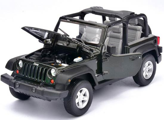 1:24 Scale Welly Diecast 2007 Jeep Wrangler Model