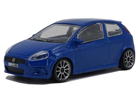 1:43 Scale Blue Diecast Fiat Punto Model