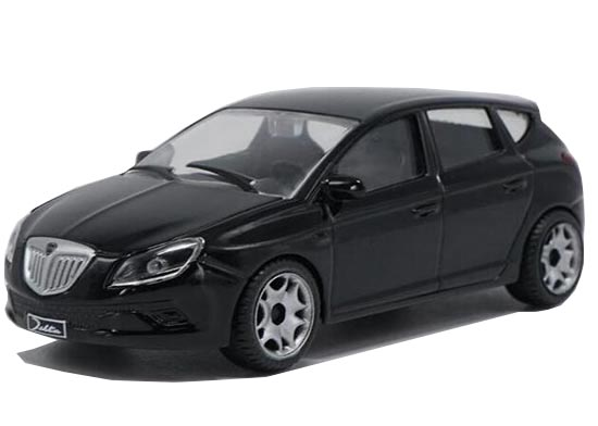 1:43 Scale Black Diecast Lancia Model
