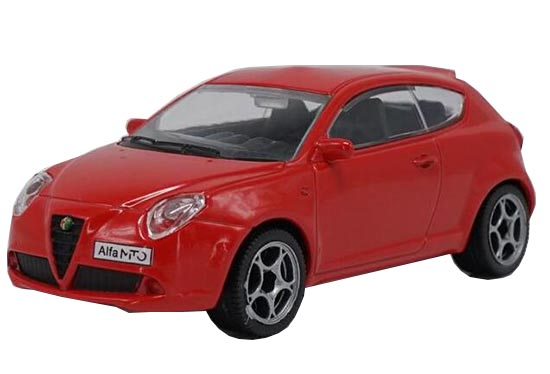 1:43 Scale Red Diecast Alfa Romeo Model