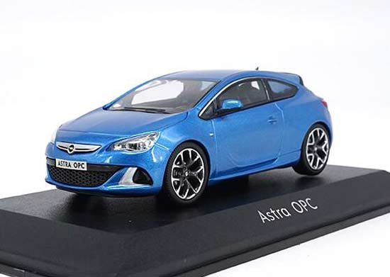 1:43 Scale Red / Blue Diecast Opel Astra OPC Model