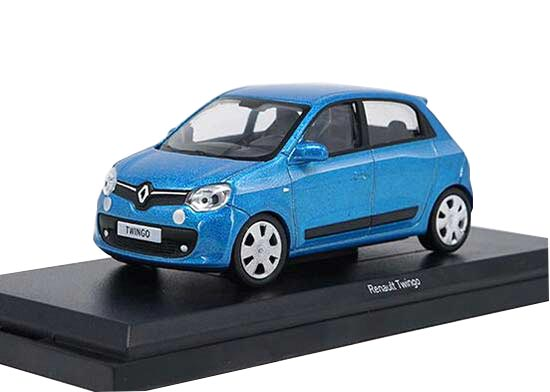 Brown / Blue NOREV 1:43 Scale Diecast Renault Twingo Model
