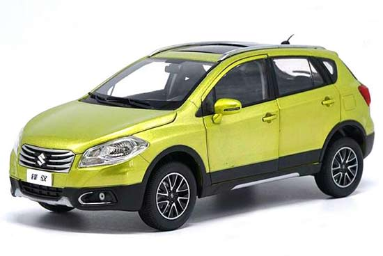 1:18 Scale Green Diecast Suzuki S-Cross SX4 Model