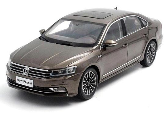 1:18 Black / Puple / Golden 2016 Diecast VW New Passat Model