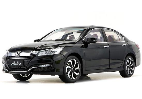 1:18 Scale Black / Silver 2016 Diecast Honda Accord Model