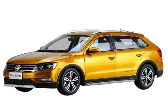1:18 Scale Golden Diecast VW Cross Lavida Model