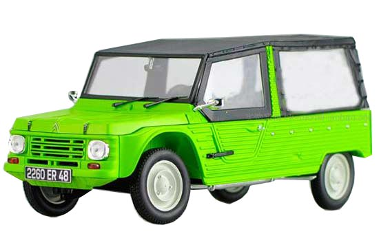 Green 1:18 Scale Norev Diecast Citroen Meahari Model
