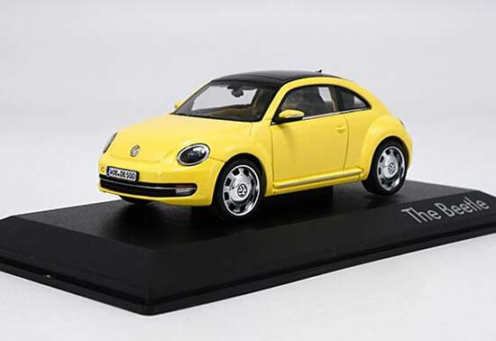 1:43 Blue /White /Red /Yellow Diecast VW Beetle Cabriolet Model