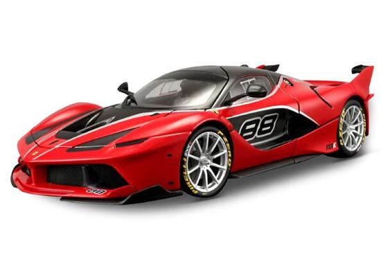 Red / Black 1:18 Scale Bburago Diecast Ferrari FXX K Model