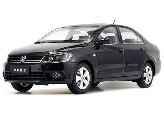 White / Black 1:18 Scale Diecast VW NEW Jetta Model