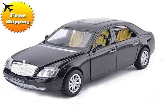 Red / Black / White / Pink Diecast Mercedes-Benz Maybach Toy
