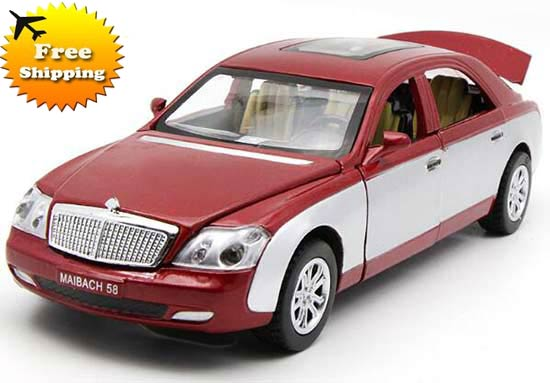 1:32 Scale Kids Four Colors Diecast Mercedes-Benz Maybach Toy