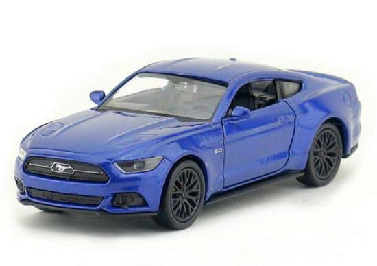 red blue 136 kids welly 2015 diecast ford mustang gt toy
