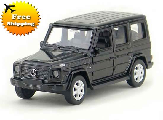 White / Black Kids Welly 1:36 Diecast Mercedes Benz G63 AMG Toy