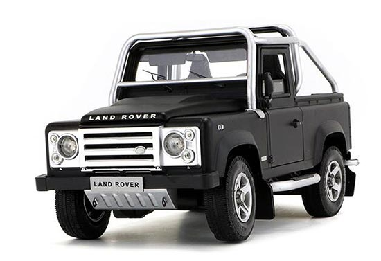 1:18 Scale Black /Red /White Diecast Land Rover Defender Model