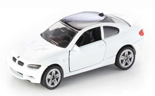 White SIKU 1450 Kids Diecast BMW M3 Coupe Toy