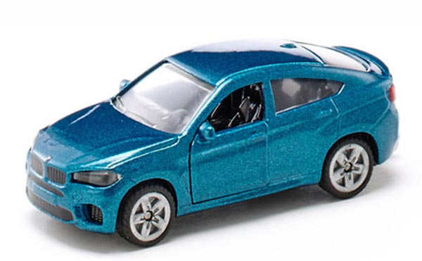 Kids Blue SIKU 1409 Diecast BMW X6 M Toy
