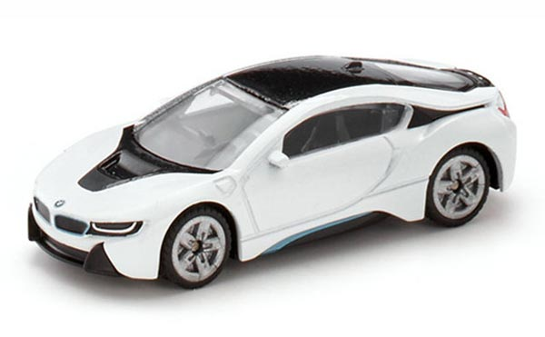 Mini Scale White Kids SIKU 1458 Diecast BMW I8 Toy