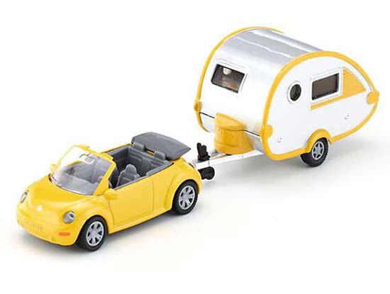Yellow Mini Scale Kids SIKU 1629 Diecast VW Beetle Toy