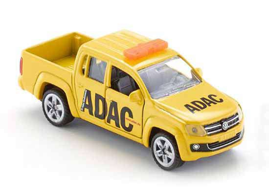 Yellow Kids SIKU 1469 ADAC Diecast VW Pickup Truck Toy
