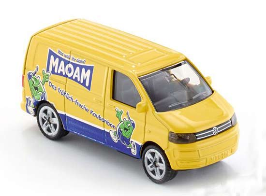 Yellow Kids SIKU 1338 Diecast VW Transporter Van Toy