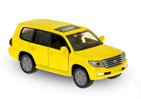 Mini Scale Yellow SIKU 1440 Diecast Toyota Land Cruiser Toy