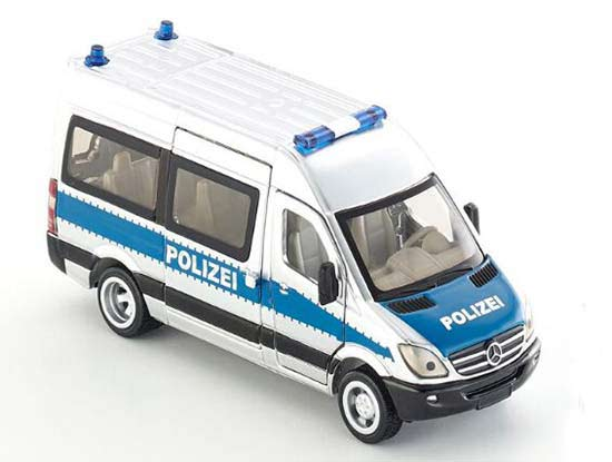 Kids 1:50 Silver-Blue SIKU 2313 Diecast Mercedes-Benz Van Toy