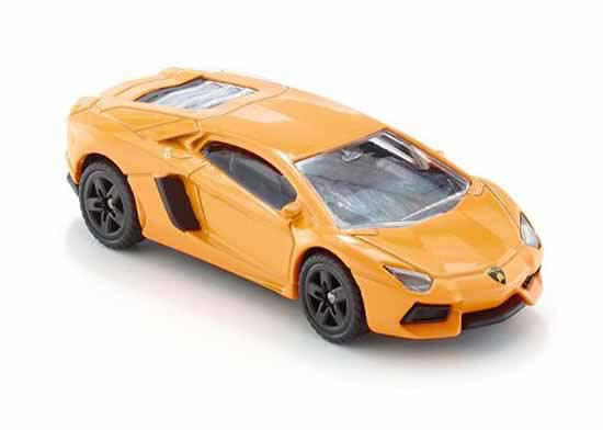 Kid Yellow SIKU 1449 Diecast Lamborghini Aventador LP700-4 Toy