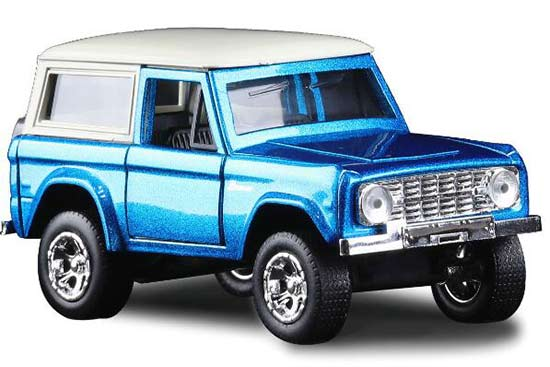 Blue 1:32 Scale JADA Kids Diecast Ford Bronco Toy