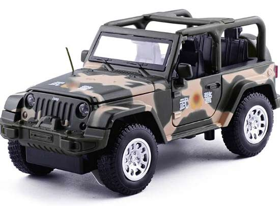 1:32 Scale Kids Police Diecast Jeep Car Toy