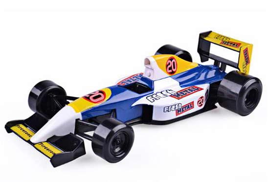 1:24 Scale Yellow-Blue Maisto NO.20 Diecast Formula Fresh Model