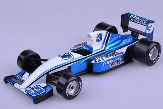 Blue 1:24 Scale Maisto NO.3 Diecast Formula Fresh Model