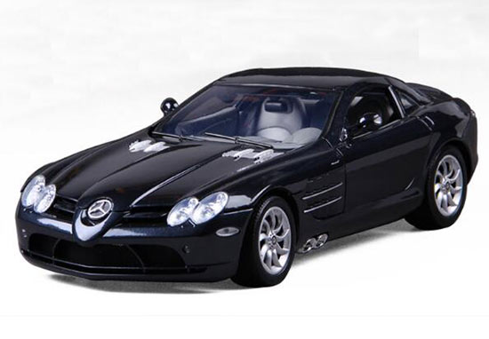 Black 1:12 Scale Diecast Mercedes Benz SLR McLaren Model