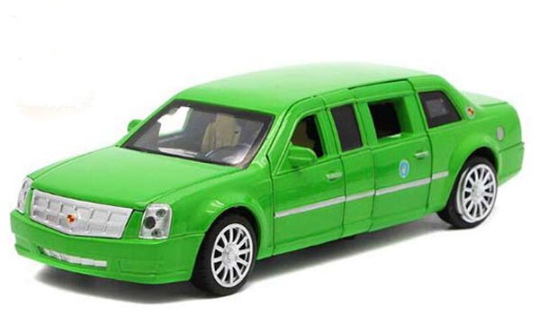Black / Red / Blue / Green 1:32 Kids Diecast Cadillac Car Toy