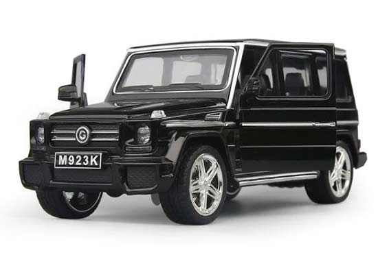 1:24 Scale Black Kids Diecast Mercedes Benz G65 AMG Toy