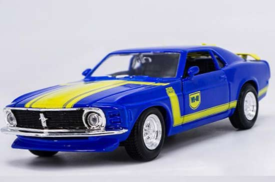 1:24 Scale Blue Maisto 1967 Diecast Ford Mustang GT Model