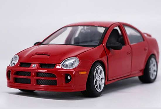 Maisto 1:24 Scale Red Diecast Dodge Neon SRT-4 Model